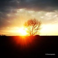 Setting Sun by Drewtography