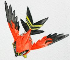 Talonflame by Hu-Gon-By