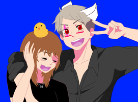 2p prussia und Aly2840 by ask-okami-2p-prussia