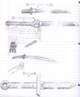 Weapons study for story by NEMESIS-01