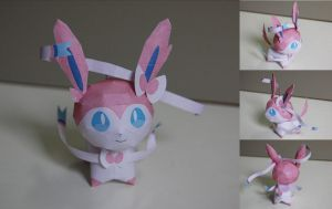 Sylveon Chibi by aquametal