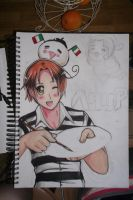Hetalia sketchbook cover by alexis360100