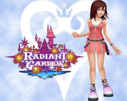 Kairi of Radiant Garden by ayame133