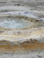 Yellowstone Hot Spring by vicask