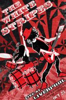 White Stripes poster concept by lukeradl