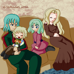 MM BN: LaikaxPride Family by AD-SD-ChibiGirl