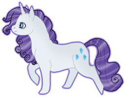 MLP Rarity by silveredraincloud