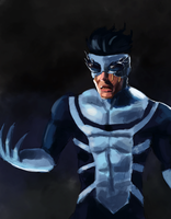 Symbiote Invincible WIP by ZhouRules