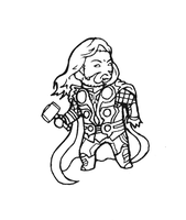 Mini Thor by b-dangerous