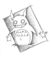 totoro smile by great-teacher-yota