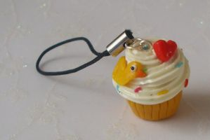 Ducky Cupcake by PORGEcreations