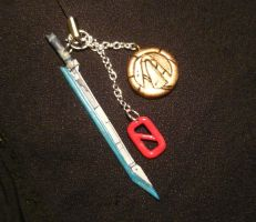 BL2 - Zer0 - handsculpted Keycharms by Ganjamira