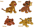 The Lion King Lions babys by TLKJoantu