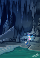 HPM - Icy Cave - Cave 1 Lv.2 by TamarinFrog