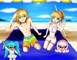 Beach time! by sweetlullaby01