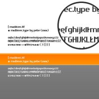 MediaWorks Drivec Font by farba