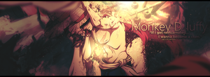 Monkey D. Luffy by JamesxpGFX