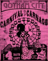 Dark Carnival: Carnival Fliers by DrewtheUnquestioned