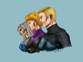 More Wilson siblings stuff by VoxVulpina