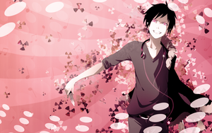 Izaya Orihara Wallpaper 2 by umi-no-mizu