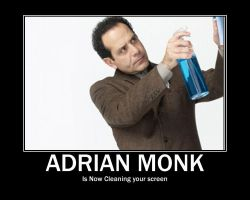 Adrian Monk by iwildaydreambeliever