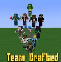 Team Crafted (Mine-imator) by Mario28037