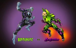Brainiac vs Lex Luthor by Superman8193