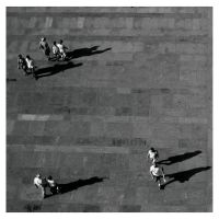 people and shadows.. by r3nya