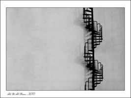 Abstract - Stairway by Ali-Alnemer