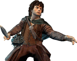 Frodo Render - Lord Of The Rings Conquest by Angelus23