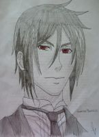 Sebastian Michaelis by CheshireGrinMoon