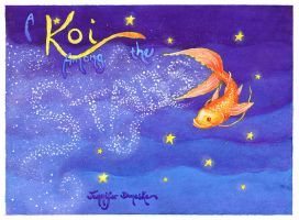 A Koi Among the Stars - old by whitefantom