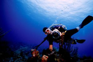 Self Scuba diving 2 by Art-Photo