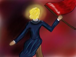 Raise the Flag by TheRandomPhangirl