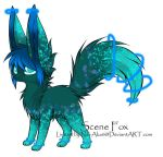 Scene Fox Adoptable ~ 4 [CLOSED] by BiahAdopts