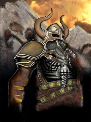 Norse viking by DocPrometheus