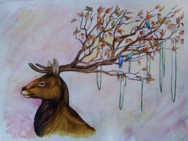 Imagination _My Dear Deer by homeless-sheep