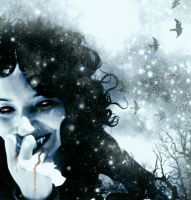 Winter Blood Thirst by morbidillusion666
