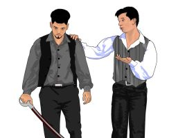 Tybalt and Romeo (Clint and David) by Pack69Alpha
