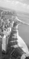 Lake Shore Drive in Chicago by henkrygg