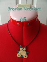 Snorlax necklace by CynicalSniper