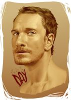 Michael Fassbender by CleryKaru