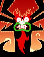 The shogun of sorrow Aku by rongs1234