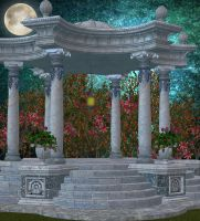 Premade Background Gazebo 5 by VIRGOLINEDANCER1