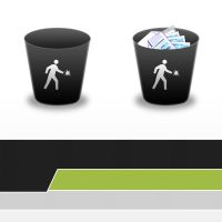 -My First Recycle Bin Icons by Luk3V