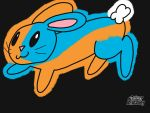 Bunny of Orange and Blue by Arr590