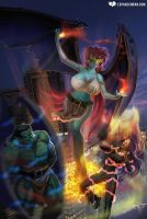 DD-Cups Demona by expansion-fan-comics