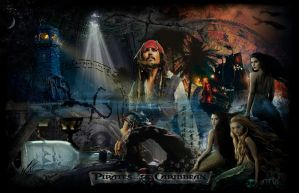 Pirates of the Caribbean Wallpaper by MMystery92