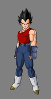 Dark Angel Vegeta by BloodyMsK