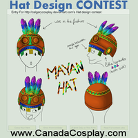 Hat design contest: Mayan hat by Soofiie